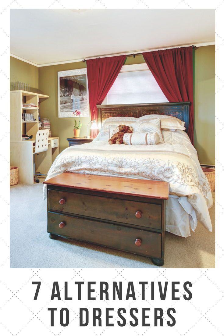 7 Alternatives To Dressers In The Bedroom In 2020 Dresser Alternative Cheap Bedroom Dressers Bedroom Dressers