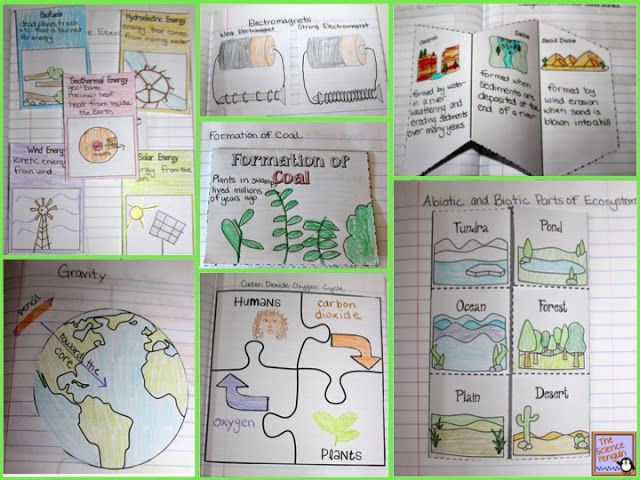 MORE Interactive Science Notebook Templates:  Search for interactive notebooks or science notebooks