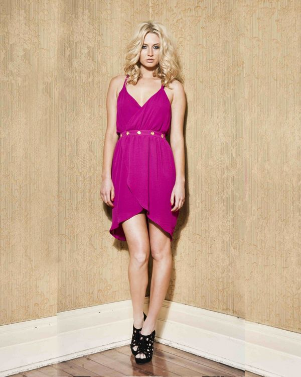 Nookie The Remix Wrap Dress - All Dresses - Clothing - Birdmotel Online Store