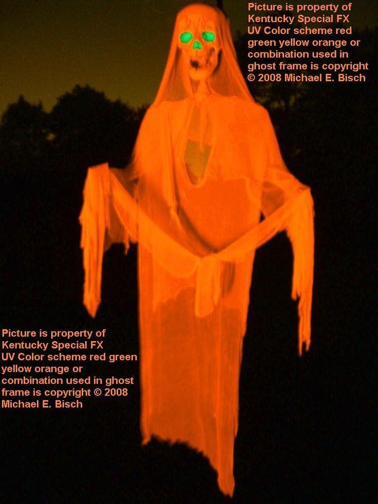 giant halloween hanging tree decoration ghost prop skeleton
