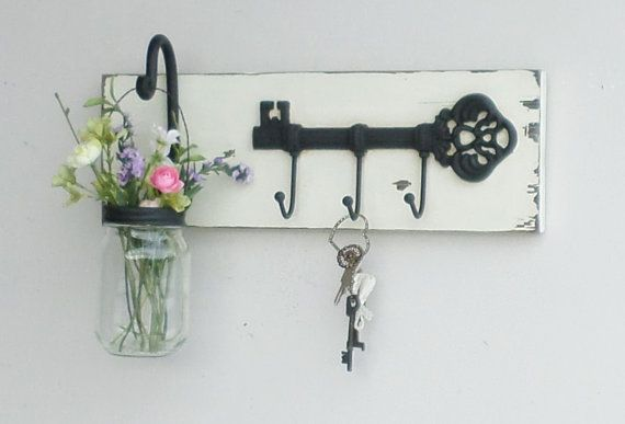 NEW...Rustic Cottage Key Shelf/Cast Iron by cottagehomedecor  https://www.etsy.com/listing/221259543/newrustic-cottage-key-shelfcast-iron?ref=fp_shop&aref=31869532127
