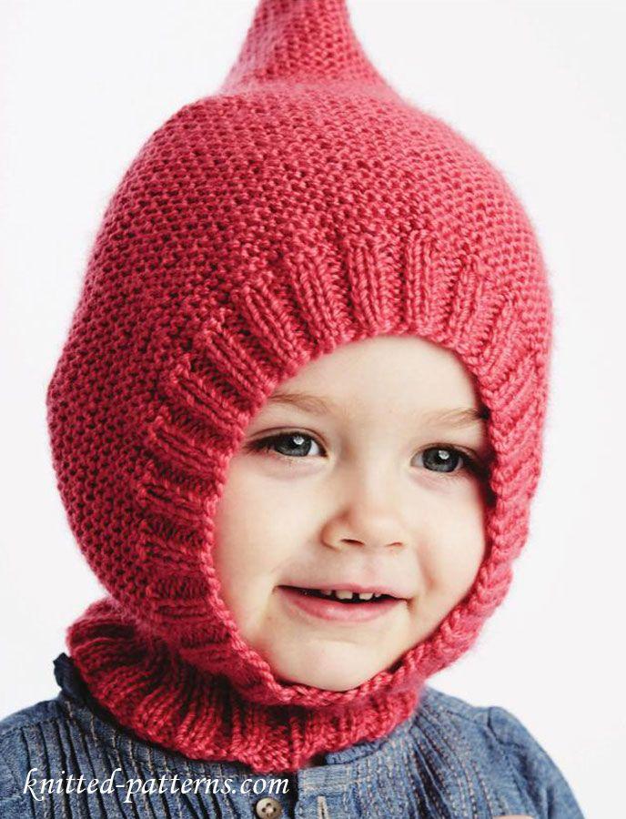 Baby hat knitting pattern free
