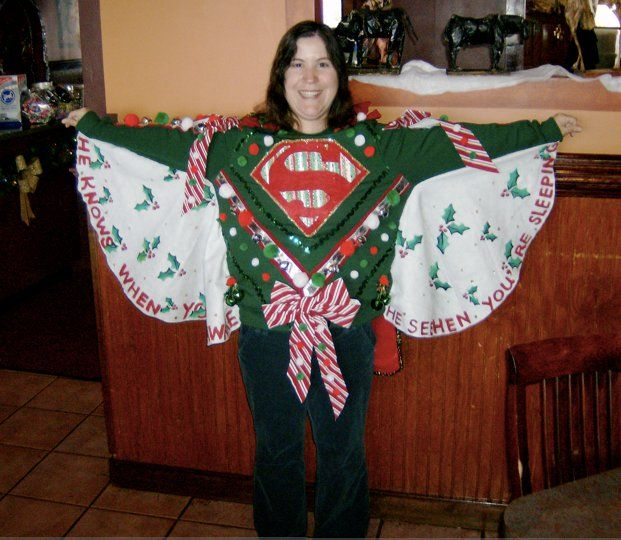 ABT UNK: Advent Calendar: Ugly Christmas Sweaters |Ugliest Sweater Contest Ideas