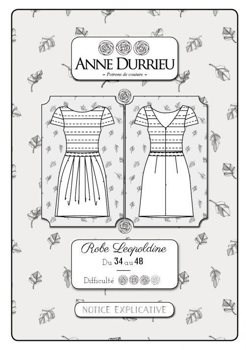 Robe Léopoldine, Anne Durrieu
