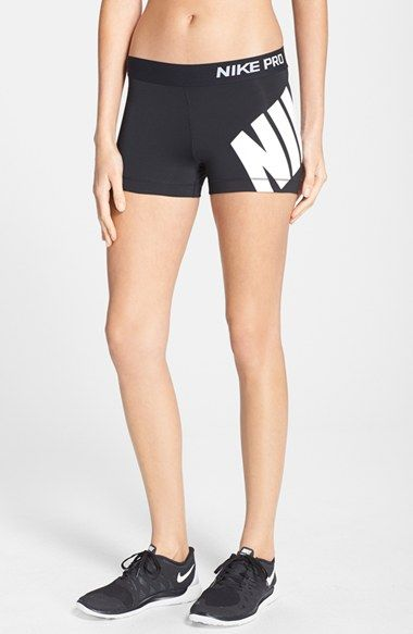 Nike+u0026#39;Prou0026#39;+Logo+Shorts+available+at+#Nordstrom | Window Shopping | Pinterest | Nike pros ...
