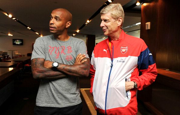 ARSENAL CHIEF KROENKE WANTS THIERRY HENRY TO REPLACE ARSENE WENGER AS GUNNER'S MANAGER