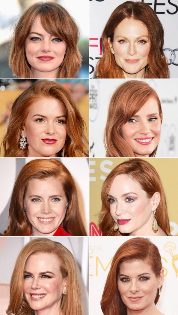 Natural or Not? Hollywood's Hottest Redheads  #InStyle