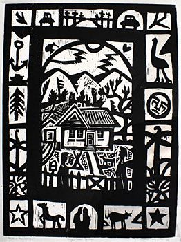 House in the Country Nigel Brown (NZ)