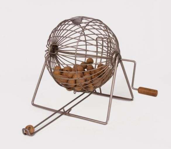 Mexican, Hand-Crank Bingo Cage, 20th Century on Paddle8