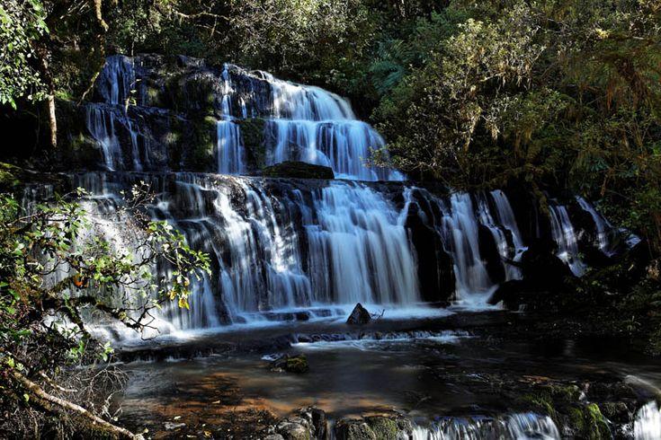 New Zealand, Purakaunui Falls ( by ivtchik, trekearth.com)