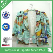 Ladies' 100% polyester print fashion woven coat Best Seller follow this link http://shopingayo.space