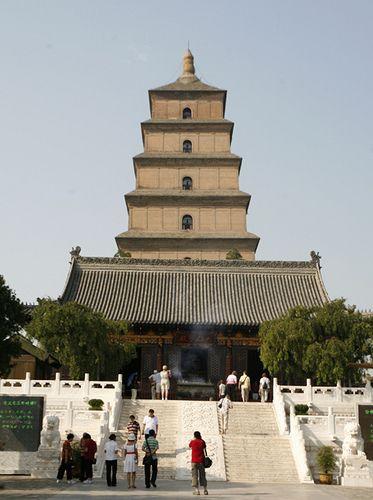 Xi'an, Big Wild Goose Pagoda