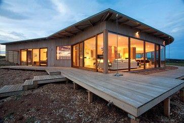Deck On Slope Stilts Home Design, Decorating, and Renovation Ideas on Houzz Australia