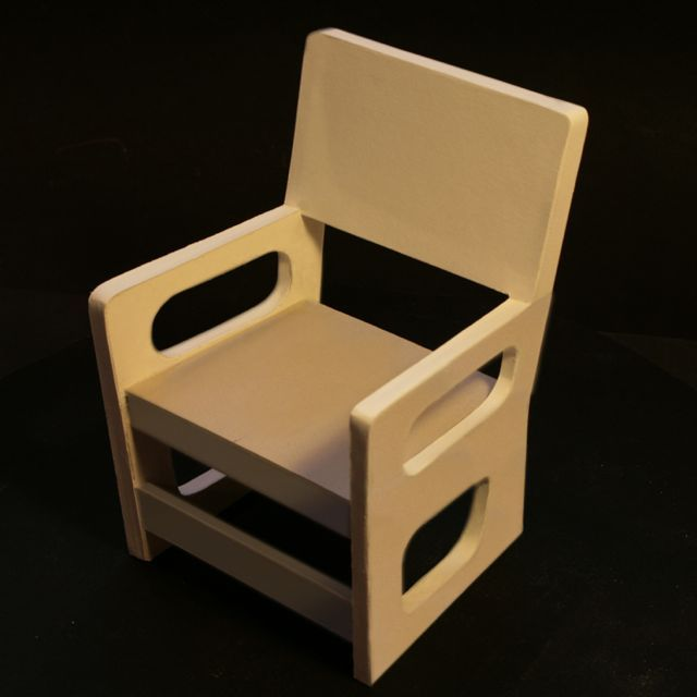 Les 25 meilleures id es de la cat gorie chaise en carton for Chaise construction