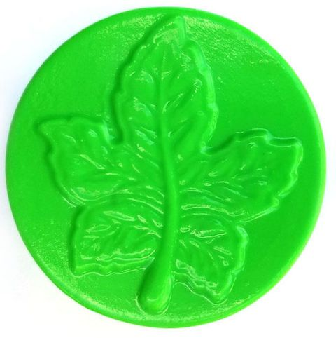 Maple leaf soap mold: 4 cavities   – Fall Inspirations
