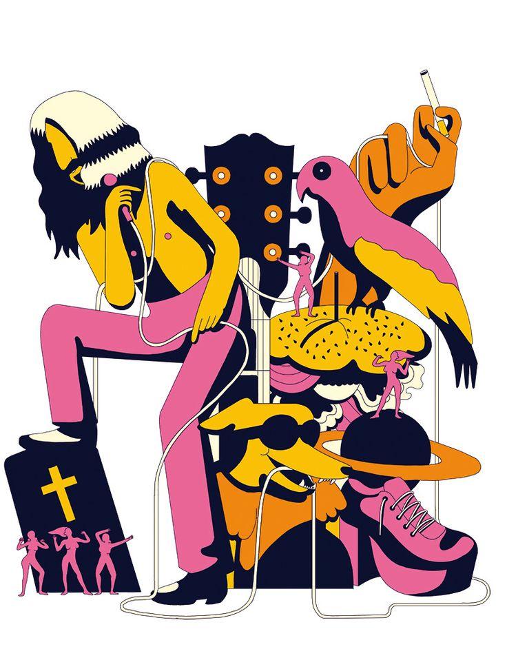IL Magazine - Frank Zappa - Elena Xausa