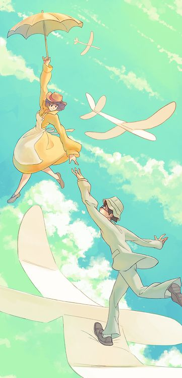 The Wind Rises - honestly one of my favourite Studio Ghibli films of all time