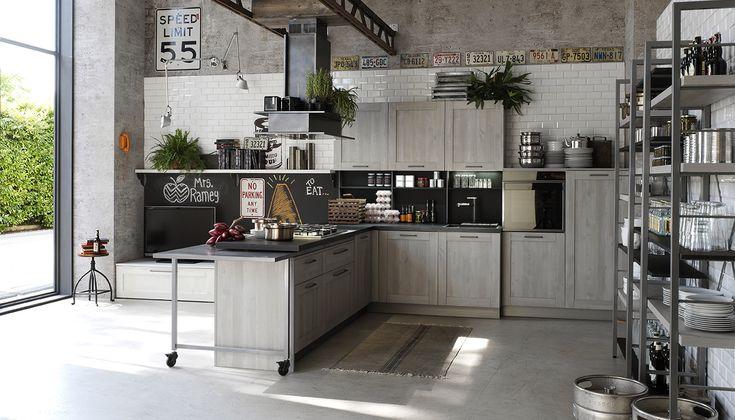 Stosa City: design dallo stile metropolitano, per uno spazio giovane e di tendenza.