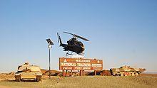 Fort Irwin National Training Center - California