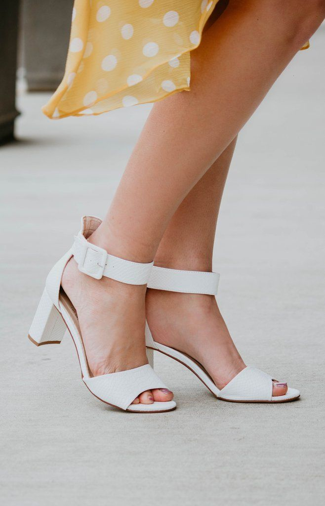 b1b760aec19 Chinese Laundry: Rumor Heel - White Snake in 2019 | New In: Shoes ...