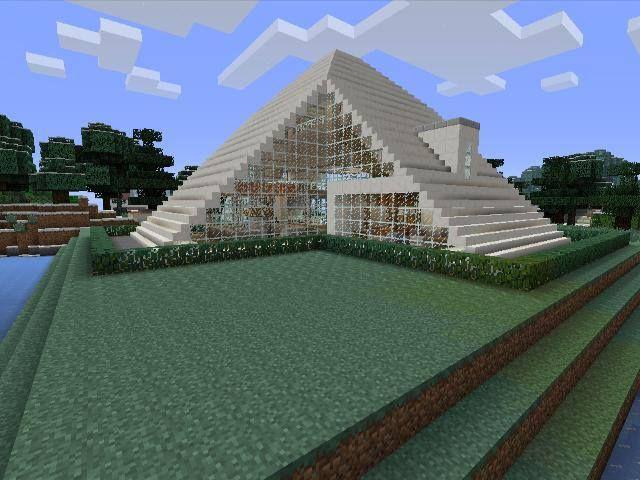 Minecraft gaming xbox xbox360 house home creative mode mojang barn modern house home bungalow
