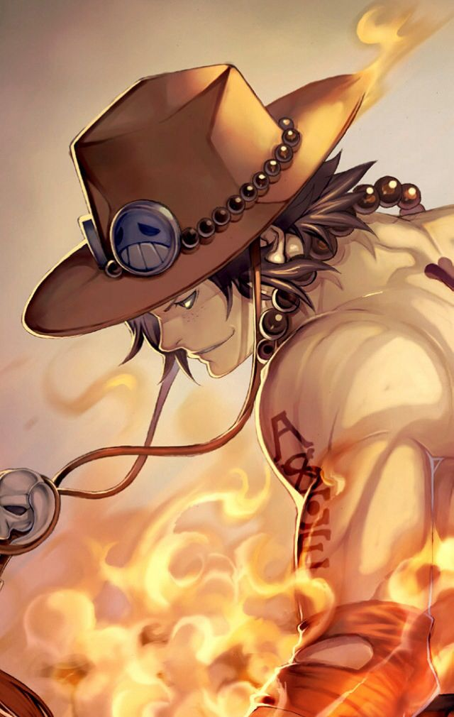Portgas D. Ace - Fire Fist Ace - Son of The Pirate King, Gold Roger and Portgas D. Rouge - Second Division Comander of The Whitebeard Pirates - Older brother of Sabo and Monkey D. Luffy