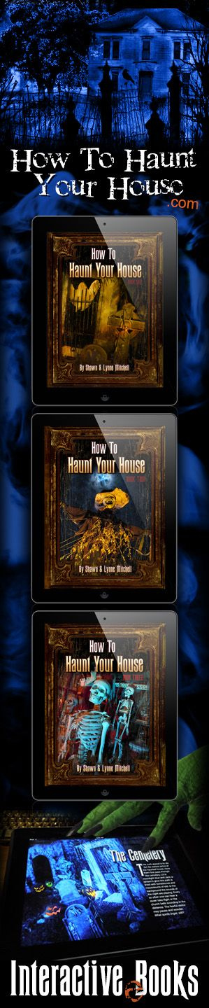 interactive ebooks on how to haunt your house series