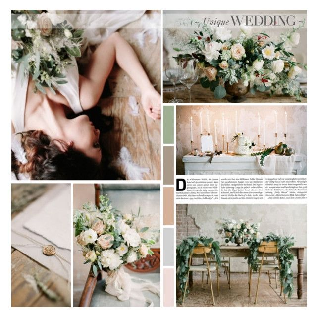 Ethereal Winter Wedding Inspiration by anna-nemesis on Polyvore featuring art