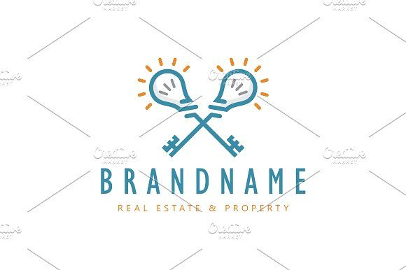 For sale. Only $29 - key, energy, creative, clever, idea, solution, innovation, cross, light, smart, bulb, strategy, open, skeleton, unlock, real estate, realty, property, security, lighting, simple, logo, design, template,