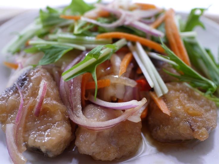 Nanban pickled bonito