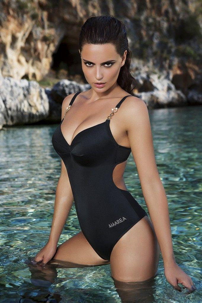 slick bikini models