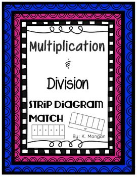 Strip diagram match with multiplication and division! #multiplication #division #strip diagram