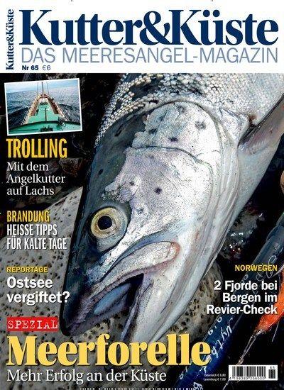 #Meerforelle: Mehr Erfolg an der #Küste 🌊  Jetzt in Kutter und Küste:  #Angeln #Meeresangeln #Angelkutter #Fischfang