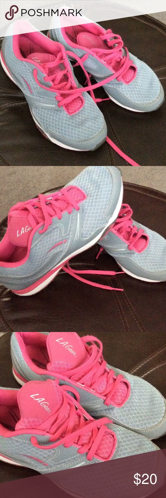 💞LA GEAR💞NAtural  Fitness💥sport shoes Preowned, in good condition La Gear Shoes Athletic Shoes
