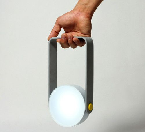 Spot is a minimalist design created by National University of Singapore – Division of Industrial Design students Gloria Ngiam, Nigel Geh & Guillaume Bloget. The concept is a multifunctional lamp that can be used as a torch, a pendant, or even a desk lamp. Modelled after industrial work lights, the lights aesthetic is only matched by its versatility. (8)