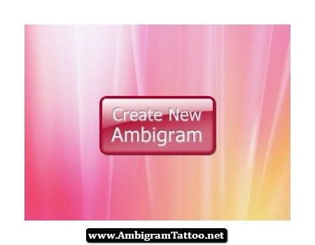 Free Ambigram Tattoos Generator 01…