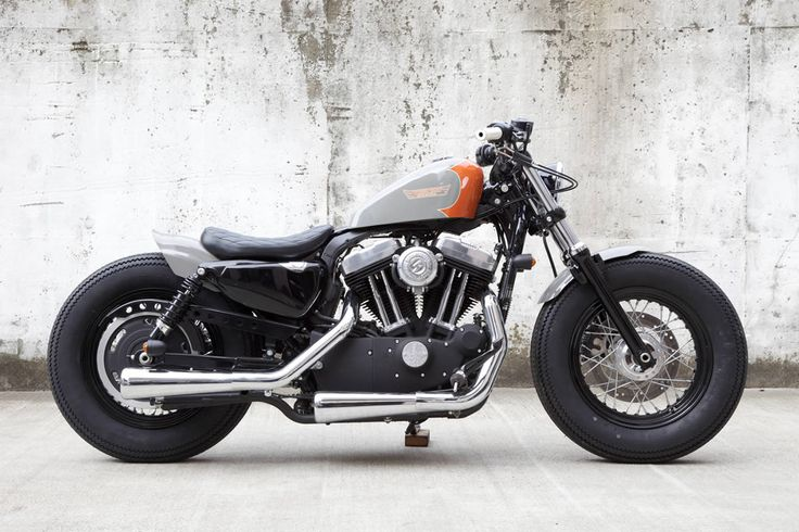harley davidson forty eight custom | Custom Sportster Forty Eight, by Hide Motorcycles