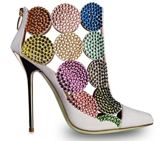 fall winter 2014 2015 shoes | The Multicolor Shoes Autumn Fashion Trends 2014 – 2015 womens shoes