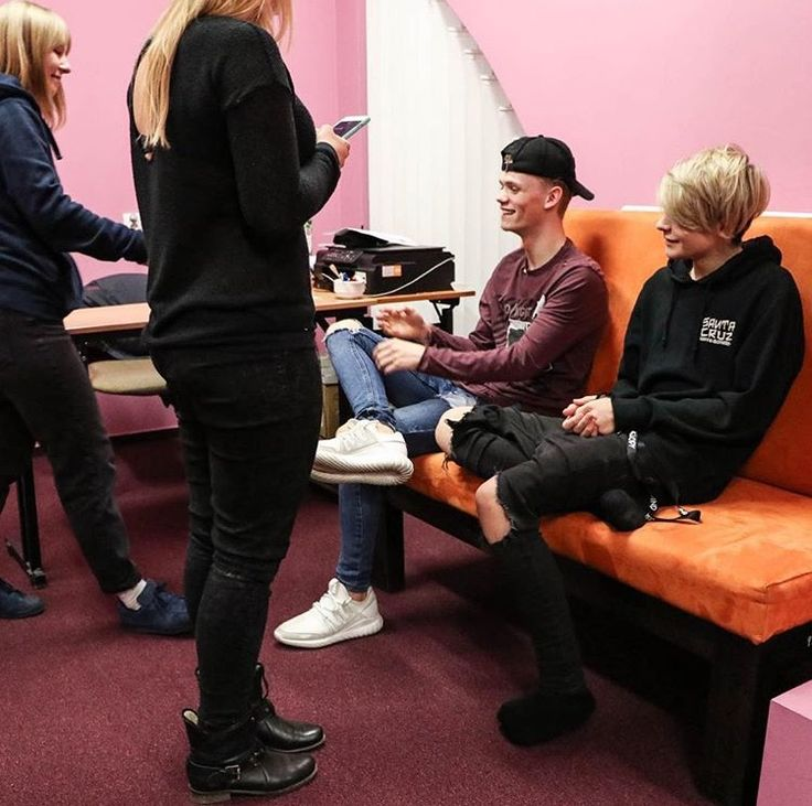 Bars and Melody getting interviewed.