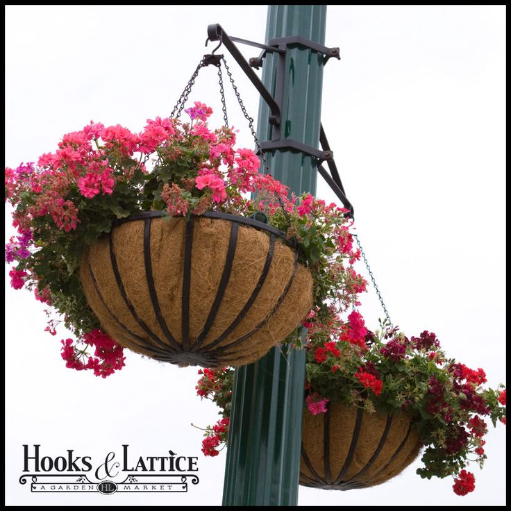Art Deco Hanging Basket Brackets : Best ideas about hanging basket brackets on