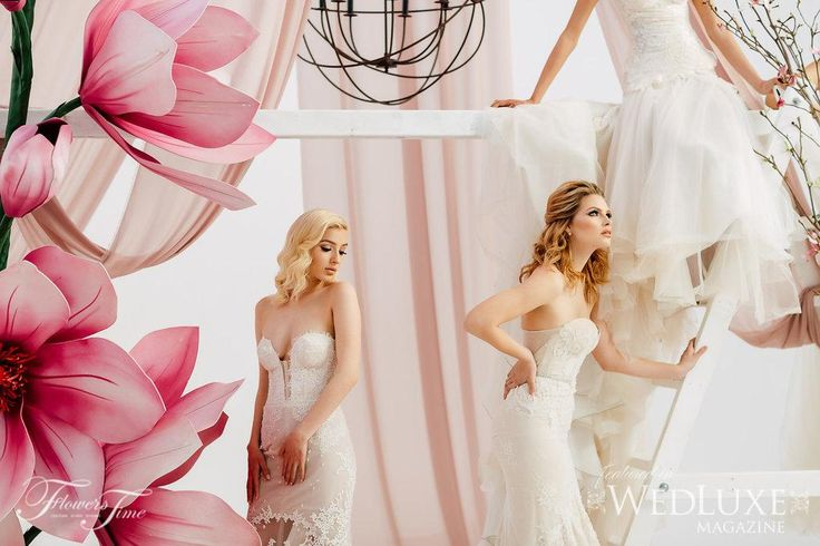 Amalfi Shoot - Wedluxe #bride#wedding#backdrop#weddingdress#pink#magnolia