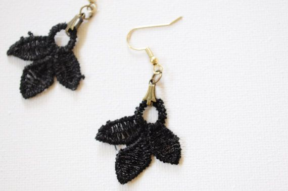 Check out this item in my Etsy shop https://www.etsy.com/listing/259999399/black-earrings-this-is-not-handmade