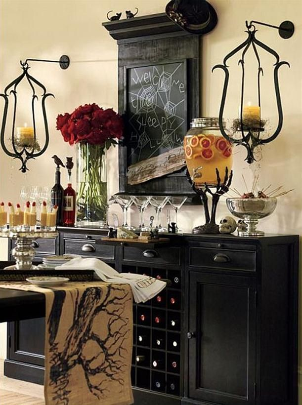 Halloween Decorations | ... home decor ideas on Halloween Time Home Design And Decorating Ideas