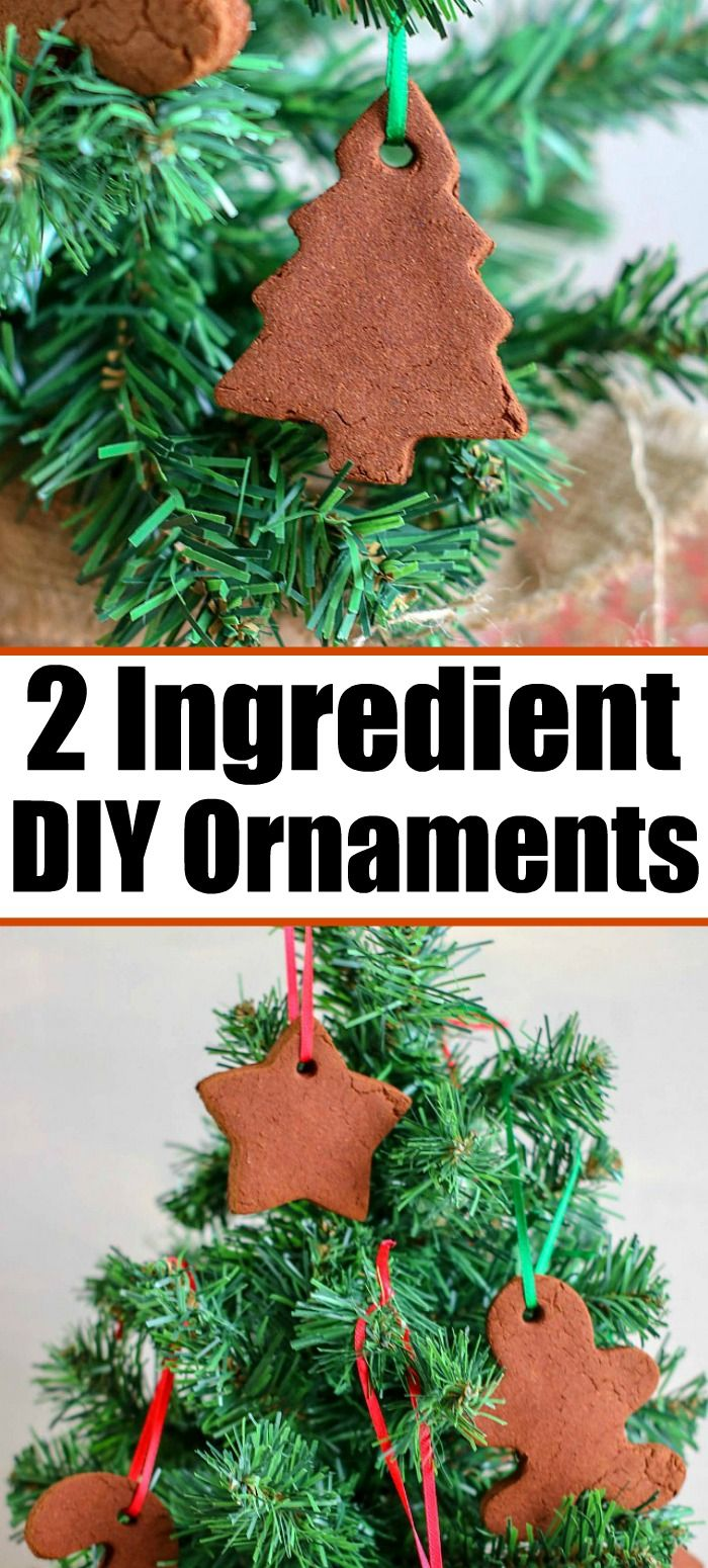 2 Ingredient Cinnamon Ornament Recipe You Should Make With Your Kids A Fun Christmas Craft And Diy Cinnamon Ornaments Cinnamon Ornament Recipe Food Ornaments