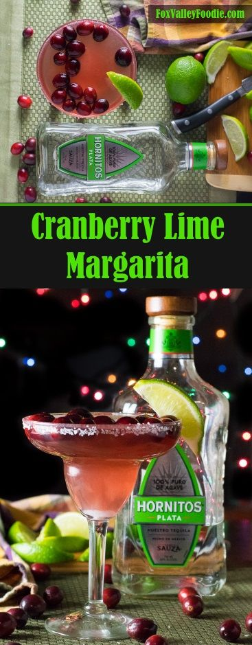 Cranberry Lime Margarita   Recipe   Margaritas, Limes and ...