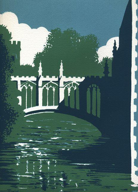 Bridge of Sighs, Cambridge by Ian Scott Massie www.mashamgallery.co.uk by Ian Scott Massie, via Flickr