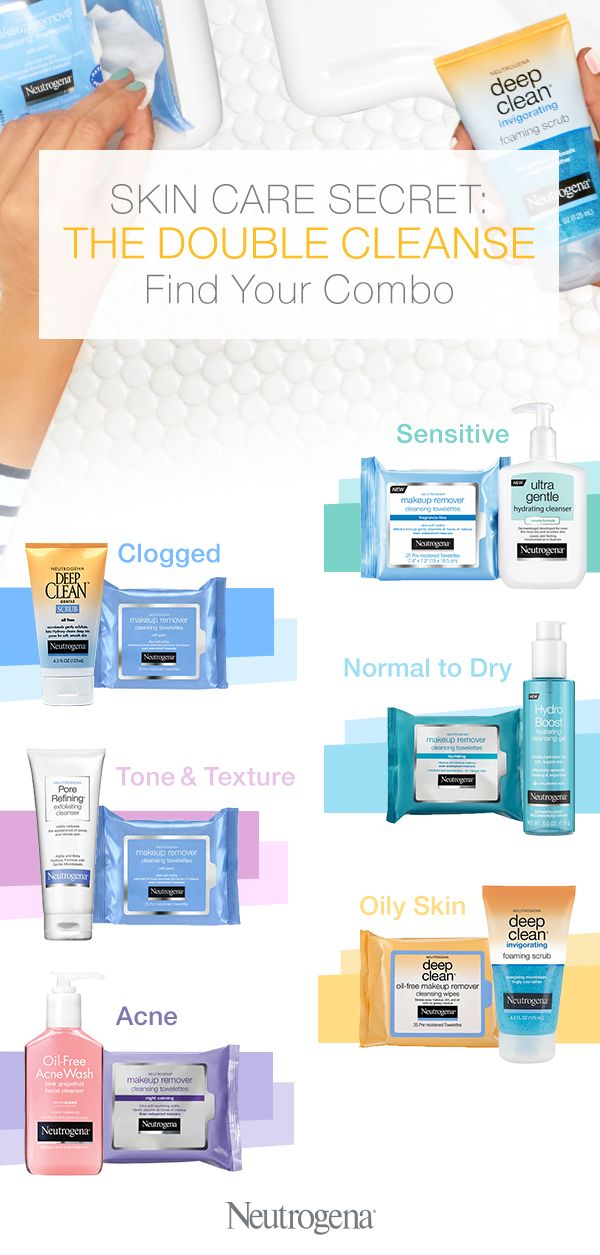 Combine two clinically proven products to get your cleanest skin ever. Wipes completely clean your skin's surface – removing makeup, dirt, and other traces of the day. That means your cleanser can go in and work even harder to go deeper into pores, revealing softer, cleaner, healthy-looking skin.