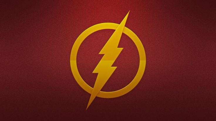 The flash logo wallpaper download for free this widescreen