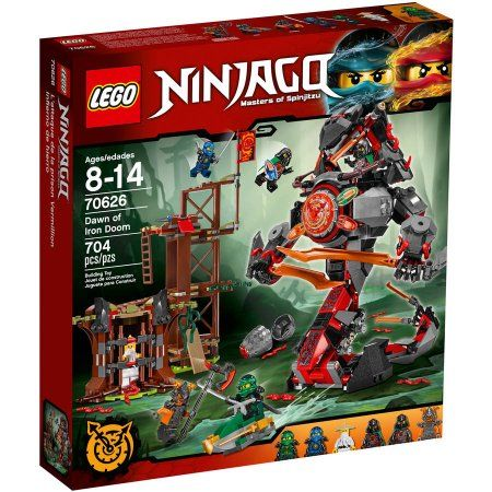 Lego Ninjago Dawn of Iron Doom 70626, Multicolor