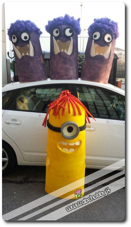 La carica dei minions - Vestito di carnevale diy